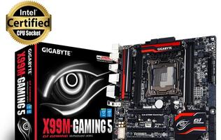 Gigabyte announces X99M-Gaming 5 mATX motherboard