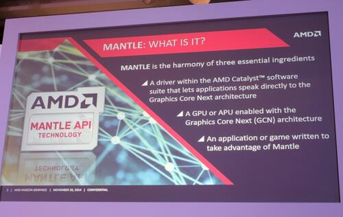 Japanese developers start to embrace AMD's Mantle