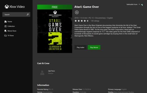 Atari: Game Over now available for free online