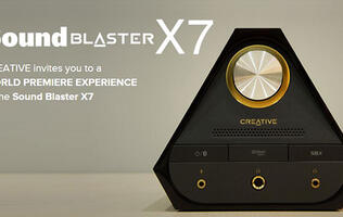 Creative hosts exclusive listening session for the Sound Blaster X7