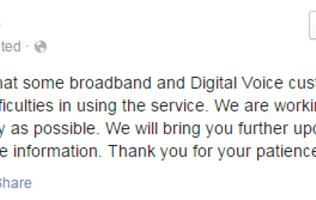 Starhub investigating ongoing broadband and digital voice service disruption (updated)