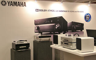 Yamaha brings its latest AV arsenal to ISSE 2014
