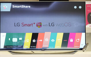 LG to debut smart TVs running WebOS 2.0 at CES 2015