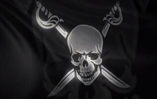 Pirate Bay domain returns waving pirate flag