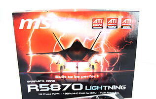 Ride the Lightning - MSI R5870 Lightning