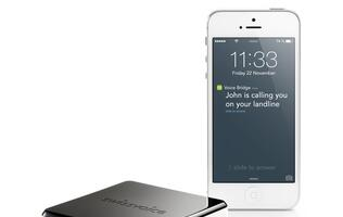 Swissvoice Voice Bridge lets you take landline calls on your smartphone