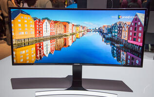 Samsung launches ULTRA-WQHD curved screen monitor with 21:9 aspect ratio