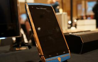 Tonino Lamborghini's 88 Tauri phone costs US$6,000