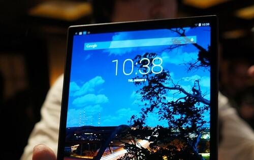 Dell launches the world's thinnest 8-inch Android tablet - Venue 8 7000 series