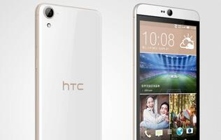 HTC unveils Desire 826 at CES 2015, available in Asia Pacific by end of January