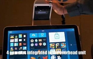 HP Sprout's cutting-edge multi-input workstation demoed!