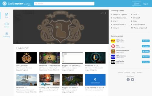 Here comes a new challenger! Dailymotion enters game streaming business