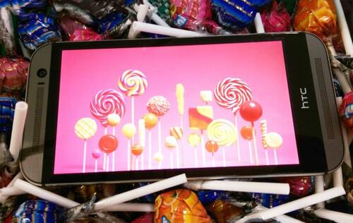 Android 5.0 Lollipop update for HTC One (M8) available now