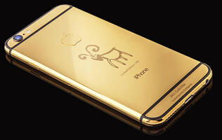 Goldgenie has a limited edition Year of the Goat 24k gold iPhone 6