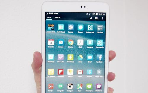 ASUS MeMO Pad 8 (ME581CL) - Compact and Speedy Intel Tablet