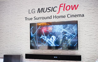 It's all about convenience: LG Music Flow flows music through the home