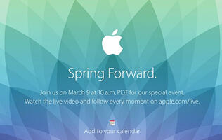 "Apple set to hold ""Spring Forward"" event on March 9"