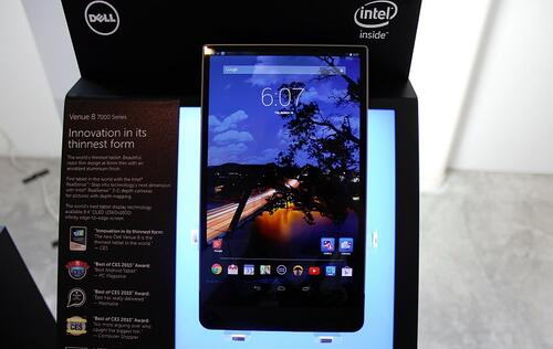 Hands-on with the Dell Venue 8 7000 tablet