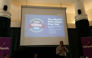 MyRepublic announces world's first 1Gbps fiber broadband free trial and plans to become Singapore's fourth telco