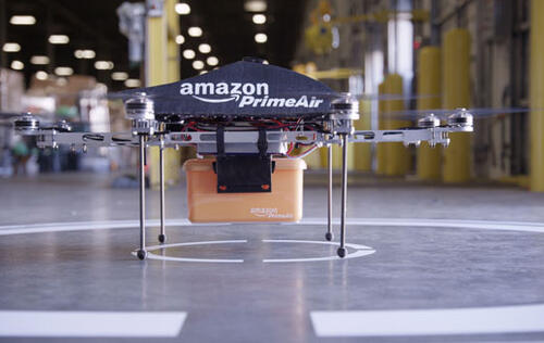 Amazon gets green light from FAA to begin drone testing