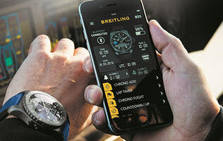 "Breitling announces new B55 Connected ""connected chonograph"""
