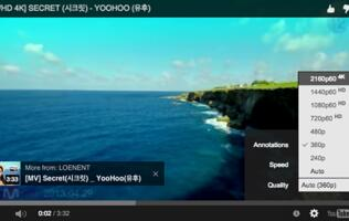 YouTube's new 4K, 60 frames per second videos will probably break your system