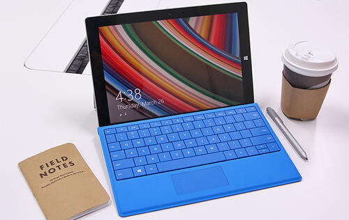 This is the Microsoft Surface 3