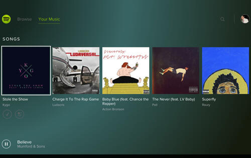 Spotify gives you more music to game by on Sony devices