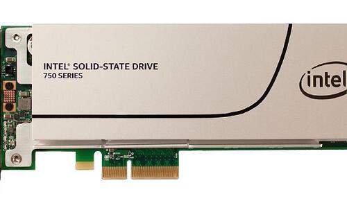 Intel announces PCIe-based SSD 750 series for PC/workstations and is 4x times faster than SATA SSDs