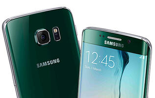 Watch the Samsung Galaxy S6 Edge bend under 110lbs of pressure (Updated)