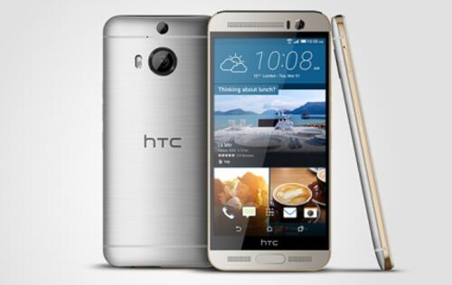 HTC unveils the 5.2-inch One M9+ with QHD display, available in China for now