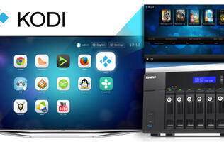 QNAP turns NAS devices into rich entertainment centers with Kodi