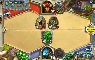 Hearthstone out now on phones