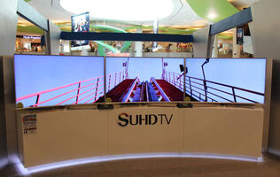 Samsung launches flagship JS9500 and JS9000 SUHD curved smart TVs