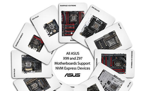 ASUS announces NVMe support for all X99 and Z97 motherboards