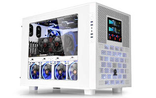 Thermaltake launches white variant of Core X9 E-ATX cube case