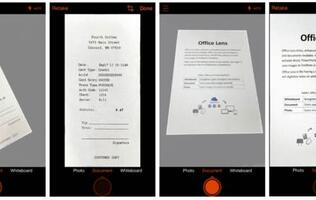Office Lens, Microsoft's mobile scanner app, comes to iOS and Android