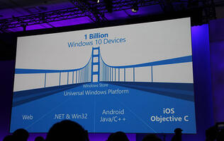 Here's how Windows 10 will run Android and iOS apps