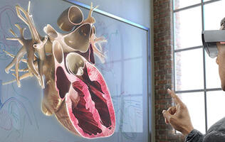 "Microsoft shows off more HoloLens use cases in its ""mixed reality"" demo at Build 2015"