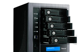 Thecus introduces 5-bay NAS solution that preserves data even in crash