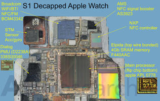 Watch the Apple Watch's new S1 chip get taken apart