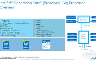 A leaked Intel roadmap points to a mid-year launch for both Broadwell and Skylake CPUs