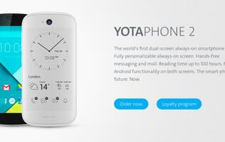 YotaPhone 2 gets Android 5.0 Lollipop update and comes in new white model