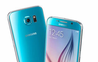 Blue Topaz Samsung Galaxy S6 will be available in Singapore on 16th May