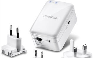 Create a Wi-Fi network wherever you are with Trendnet's new TEW-817DTR travel router