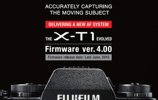 Fujifilm announces new firmware update for the X-T1