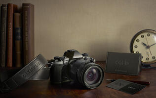 Olympus announces the release of a limited edition model of the OM-D E-M5 Mark II
