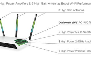 Amped Wireless' new RE1750A Wi-Fi range extender provides up to 12,000 sq ft of Wi-Fi coverage