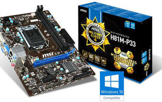 MSI becomes first motherboard brand to be Windows 10 certified