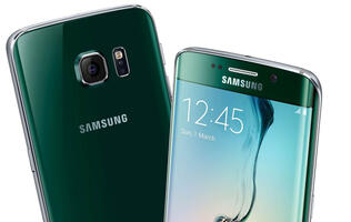 Samsung Galaxy S6 Edge in Green Emerald will be available from this weekend